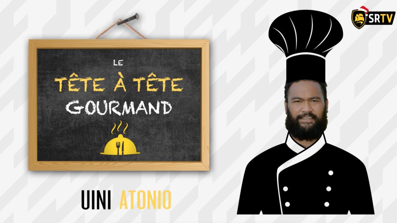 Tête à tête gourmand avec Uini Atonio !