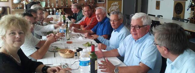 Déjeuner entre chefs d'établissements et l'Atlantique Stade Rochelais