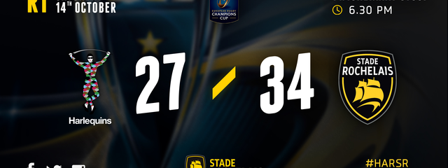 First win in Champions Cup !