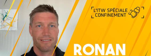 Interview confinement avec Ronan O'Gara