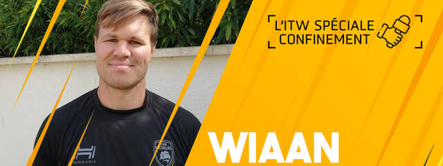 Interview confinement avec Wiaan Liebenberg