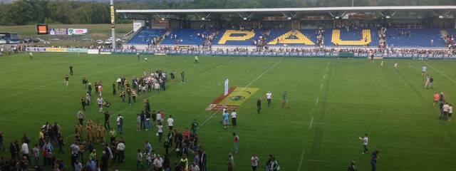 La Rochelle gagne à Pau