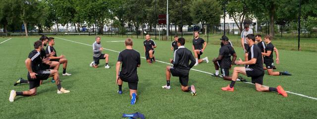 Le groupe a repris l'entraînement !