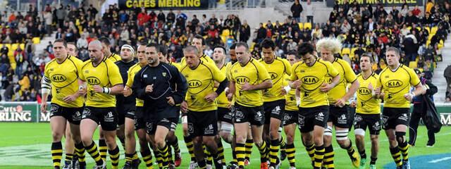 Le XV Rochelais contre Tarbes