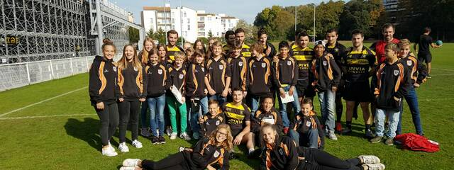 Les Allemands d'Heidelberg en stage cette semaine à La Rochelle