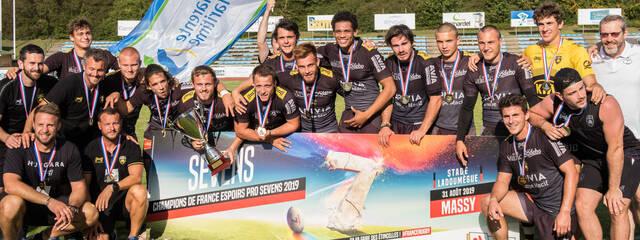 Les Espoirs, Champions de France à 7 !