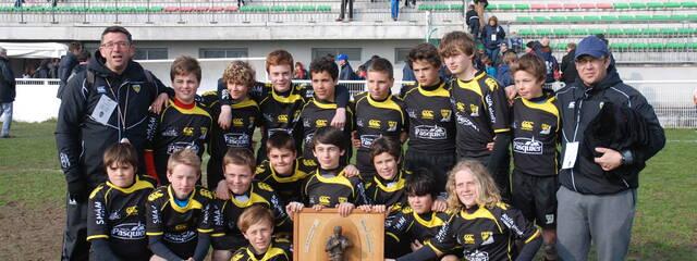 Les U13 victorieux à Nantes