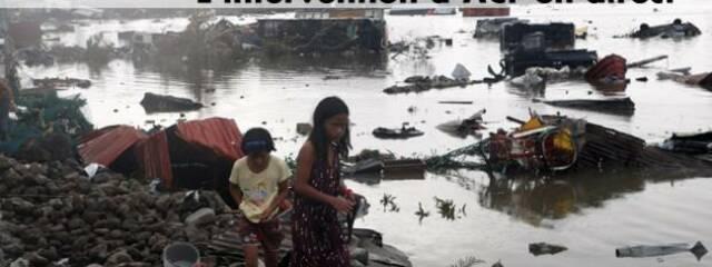 Philippines : 1€/billet vendu pour l'action d'ACF
