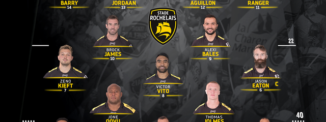 R11 - Stade Rochelais / Pau : the team !