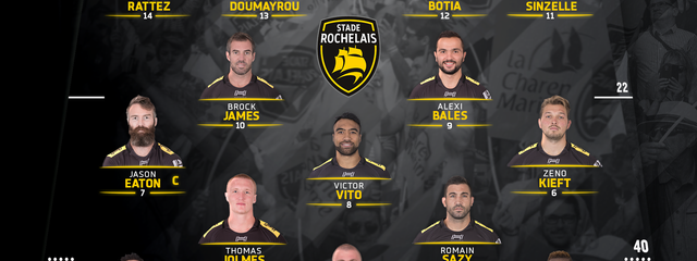 R13 - Bordeaux Bègles / Stade Rochelais : the team