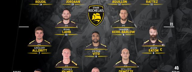 R16 - Stade Rochelais / Brive : the team !