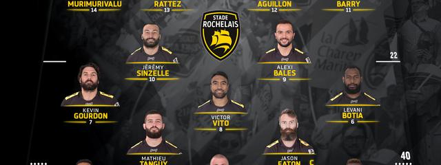 R19 - Clermont / Stade Rochelais : the team !
