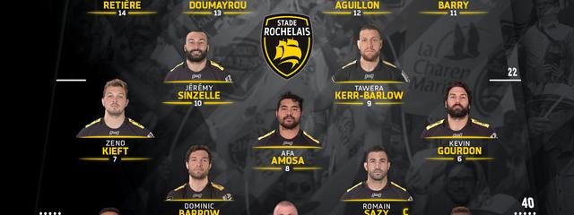 R22 - Stade Rochelais / UBB : the team !