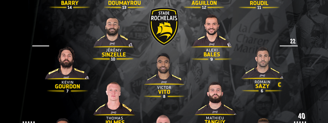 R24 - Stade Rochelais / Castres : the team