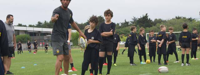 Rugby Camps : les stages d'été du Stade Rochelais !
