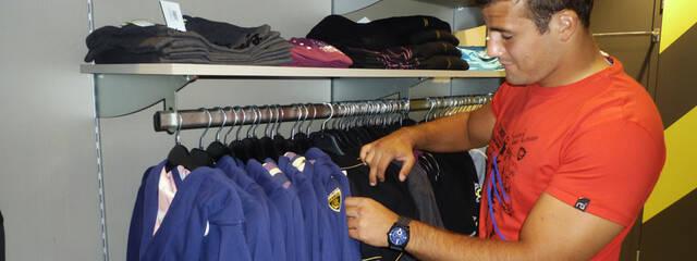 Shopping avec Kévin Le Guen