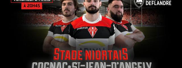 Stade Niortais / Cognac Saint-Jean-d'Angély