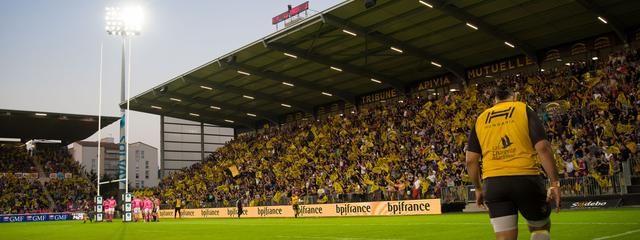 Stade comble pour Stade Rochelais / Stade Français Paris !