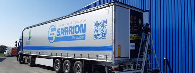 #STADEONTHEROAD avec Sarrion !