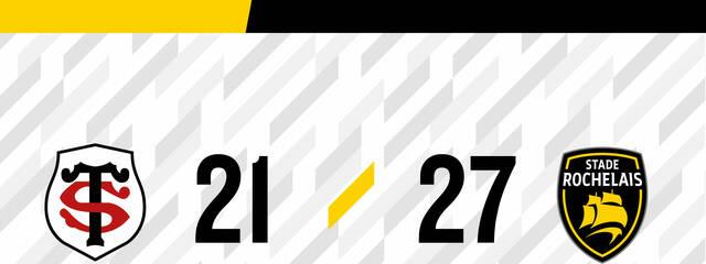 Victoire 27 à 21 à Toulouse !