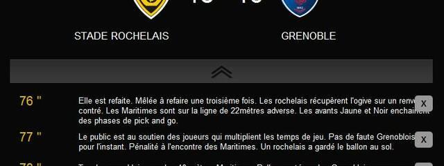 Victoire de l'ASR sur le FC Grenoble Rugby !